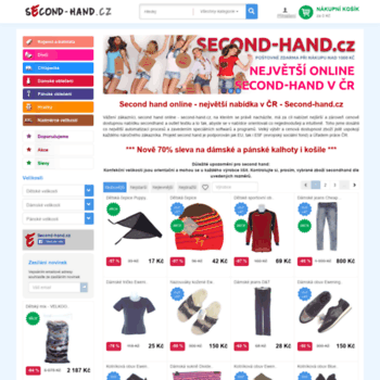 Second-hand.cz thumbnail