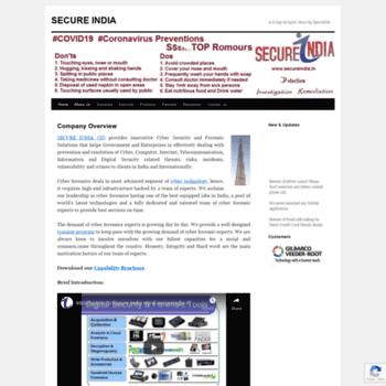 Secureindia.in thumbnail