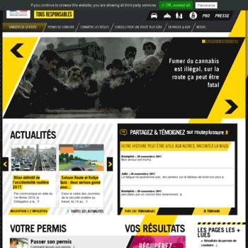 Securiteroutiere.gouv.fr thumbnail