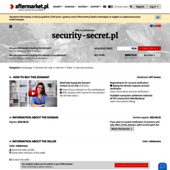 Security-secret.pl thumbnail