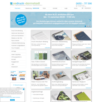 Sedruck Darmstadt De At Wi Copyshop Buchbinderei
