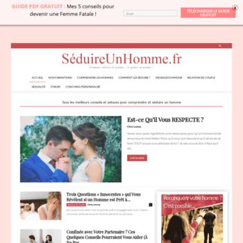 Seduireunhomme.fr thumbnail