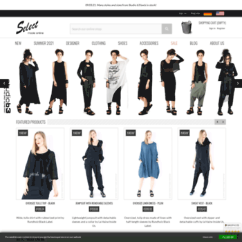 dc6d6b51abb9 select-mode-online.de at WI. Designer fashion for women and men ...