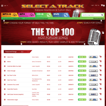 Selectatrack.com thumbnail