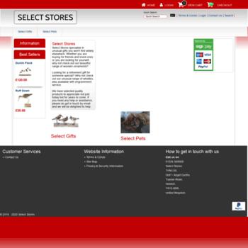 Selectstores.co.uk thumbnail