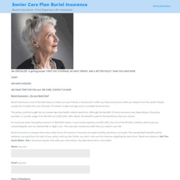 Seniorcareplan.net thumbnail