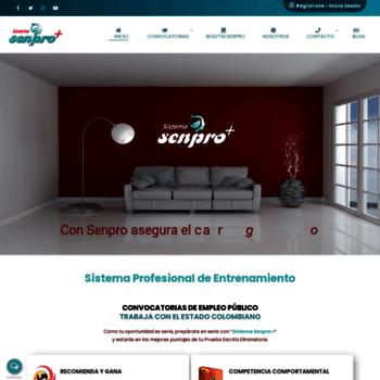 Senpro.com.co thumbnail