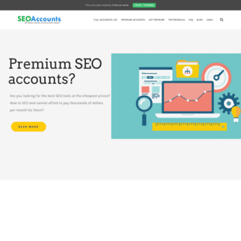 seoaccounts net at WI  SeoAccounts- Premium Seo Accounts