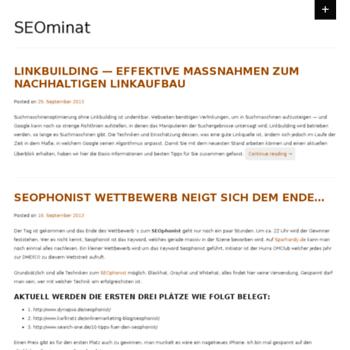 Seominat.de thumbnail