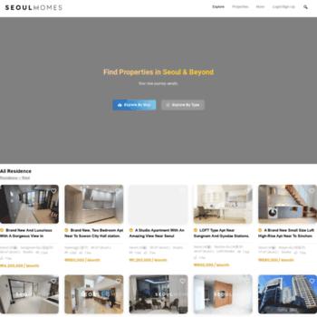 Seoulhomes.kr thumbnail
