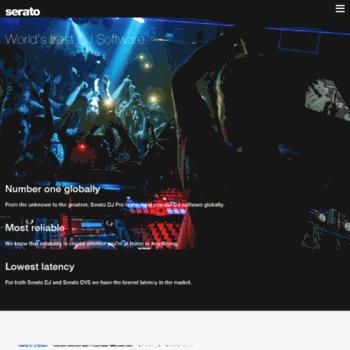 seratodj com at WI  Serato   The world's best DJ and music