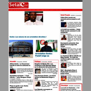Setal.net thumbnail