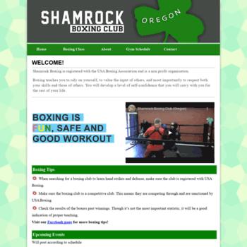Shamrockboxing.net thumbnail