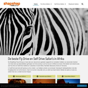 Shapshapreizen.nl thumbnail