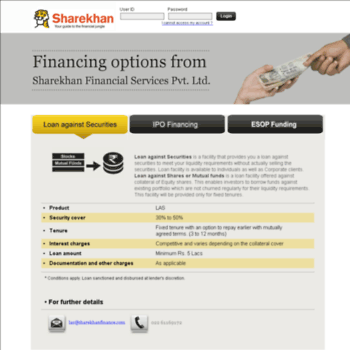 sharekhanfinance com at WI  NBFC_CLIENT