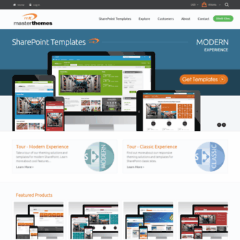 sharepointpackages com at WI  SharePoint Modern Templates