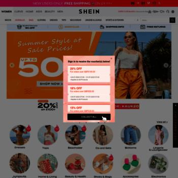 3cf8d1cc2a shein.co.uk at WI. Women's Clothing & Fashion, Shop Womenswear ...