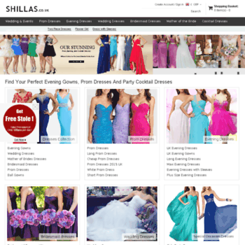 Shillas.co.uk thumbnail