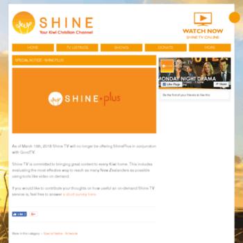 Shineplus.co.nz thumbnail
