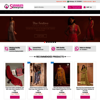 Shivkrupaenterprise.com thumbnail