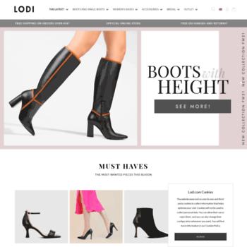 69cbfdd141f5c shoepping.com at WI. LODI official Web - Online Shop Womens Shoes - Lodi