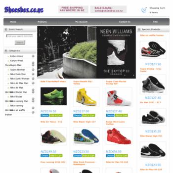 Shoesbox.co.nz thumbnail