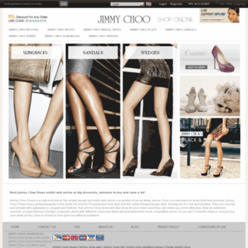 Shoesjimmychoo.co.uk thumbnail