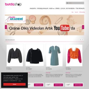 e0be728be52b6 shop.burda.com.tr at WI. Burda Dergisi Sanal Mağazası