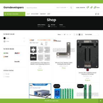 shop gsmdevelopers com at WI  GSMDevelopers