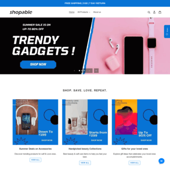 Shopable.in thumbnail