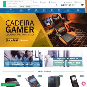 Shopfive.com.br thumbnail