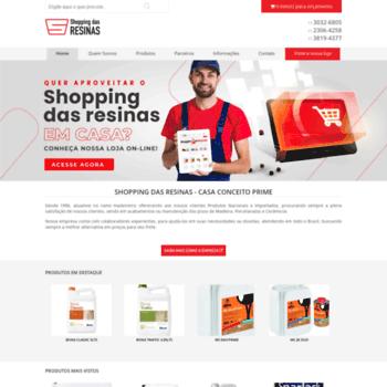 Shoppingdasresinas.com.br thumbnail