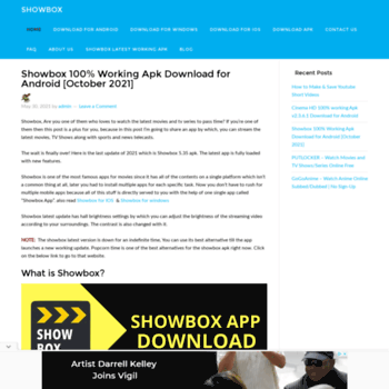 showbox buzz at WI  Showbox apk download for android - v5 35