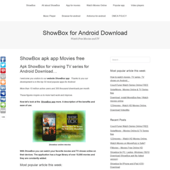 showbox for android tv free download
