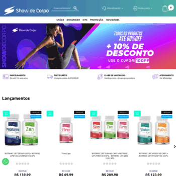 Showdecorpo.com.br thumbnail