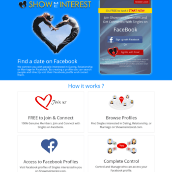 can you search for singles on facebook