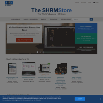 Shrmstore.org thumbnail
