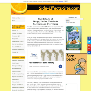 Side-effects-site.com thumbnail