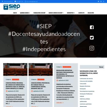 Siep.org thumbnail