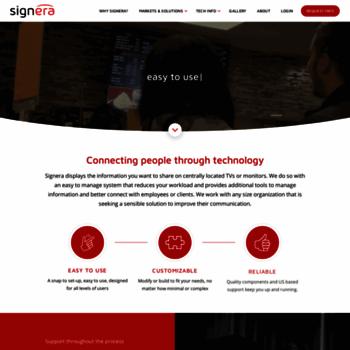 Signera.net thumbnail