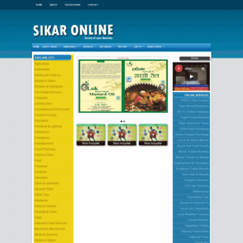 Sikaronline.com thumbnail