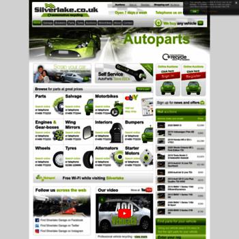 Silverlakeautoparts.co.uk thumbnail