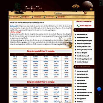 Simhoptuoi.com.vn thumbnail