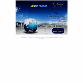 simnetwork com at WI  Simnetwork fsx downloads, fsx Aircraft, FS2004