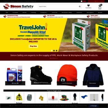 Simon-safety.co.uk thumbnail