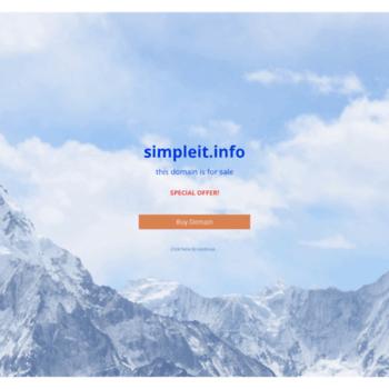Simpleit.info thumbnail