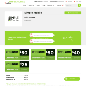 simplemobile cellpay us at WI  SIMPLE Mobile Bill Pay