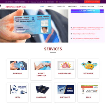 Simpleservice.in thumbnail