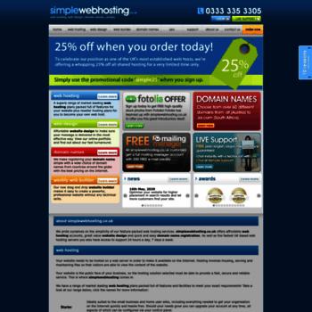 Simplewebserver.co.uk thumbnail