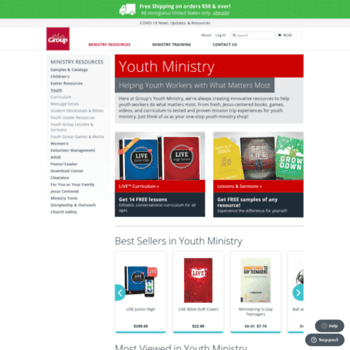 simplyyouthministry com at WI  Youth Ministry Resources